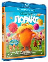The Lorax (Blu-ray/DVD, 2012)Russian,English,Spanish,Portuguese,Latvian,Estonian
