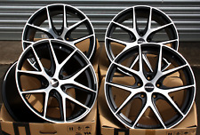 "18"" ALLOY WHEELS NOVUS 01 BP FIT FOR FORD FOCUS MK2 MK3 INC ST"