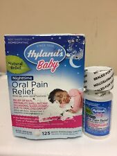 Hyland's Baby Nighttime Oral Pain Natural Relief 125 Tablets Homepathic