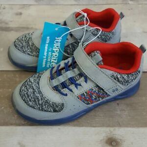 Stride Rite Surprize Boys Toddlers 4, 5, 7, 10, 12 Ardo Light-Up Sneakers Gray