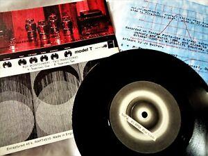 ROY MONTGOMERY Two Trajectories VINYL 45 Minimal Synth Electro Eno RARE Record