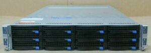Supermicro Superserver 6027TR-HTRF 4 x Nodes 8 x 8 Core E5-2690 192GB Server