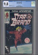 Star Brand #1 CGC 9.8 1986 Marvel / New Universe Romita Jr, Williamson:New Frame