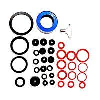New Plumbing 32 Pc Assorted Washers Tap Rings Ptfe Sealing Tape & Radiator Key