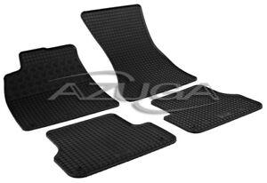 Gummimatten für Audi A6 (4G/C7) ab 2/2011 A7 Gummi-Fußmatten Automatten 4-teilig