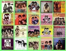 THE SHIRELLES RECORD ALBUMS,  20 PHOTO FRIDGE MAGNETS