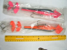 "Lot Of 2 Top Water Buzz/Chopper 12"" Pike Musky Lures"