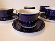 Arabia of Finland VALENCIA pattern demitasse cup and saucer sets
