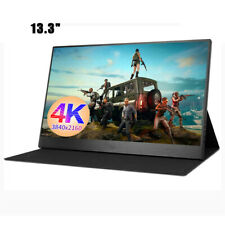 "13.3"" Portable 4K Monitor IPS HDMI Type-C for Raspberry Pi Smartphone PS Xboxone"