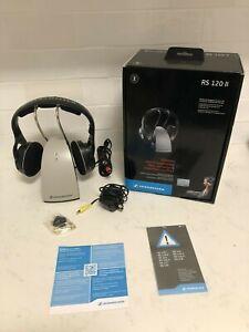 Sennheiser RS-120 II Wireless RF Headphones as new very good condition