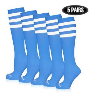 ⭐️5 PAIRS! NEWZILL Compression Socks 20-30mmHg Men & Women Circulation Recover