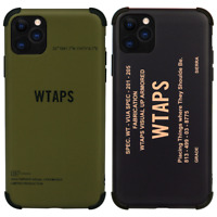Wtaps SS19 Phone Case Cover For Apple iPhone 11 Pro Max XR XS X Bape 8 Plus 7 SE