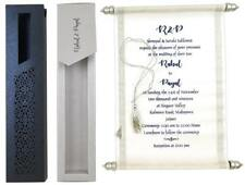 Invitation scroll wedding card invitations 25Pcs Set