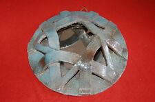 Ancien miroir en terre cuite original -