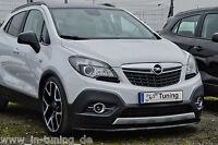 Spoilerschwert Frontspoiler Lippe Cuplippe aus ABS für Opel Mokka 2WD mit ABE
