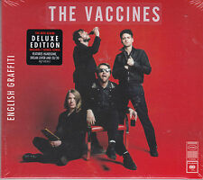 DOUBLE CD DIGIPACK 18T THE VACCINES ENGLISH GRAFFITI DELUXE EDITION NEUF SCELLE
