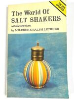 1976 THE WORLD OF SALT SHAKERS vintage collector's book MILDRED & RALPH LECHNER