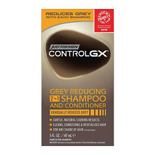 Just For Men Control GX Grey Reducing 2-In-1 Hair Shampoo And Conditioner 147ml