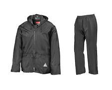 Result Impermeable Chaqueta Pantalón de Lluvia Diferentes COLORES S - 2XL Nuevo