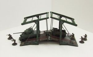 'DUTCH CANAL BRIDGE' - 28mm  - ASSEMBLED MDF & PAINTED TO COLLECTOR'S STANDARD