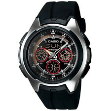 CASIO WORLD ANADIGITAL CRONOGRAPH  MONTRE YACHT TIMER RUBBER MENS WATCH g SHOCK