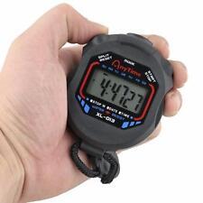 2016 Digital Professional Mano LCD Cronógrafo Cronómetro Deportivo Horas