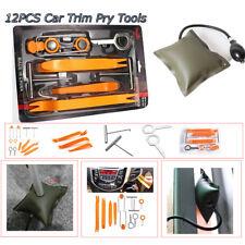 12 Pcs Pump Wedge Bag Open Pry Tools Kit Car Panel Dashboard Door Radio Removal