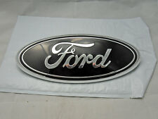 New Ford F150 05-14  Grille/Tailgate Emblem Black/Chrome Oval 3D Badge Free Ship