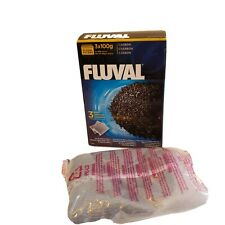 1 Pk Fluval Activated Carbon Media External Filter 106 206 306 406 FX (3)x100g