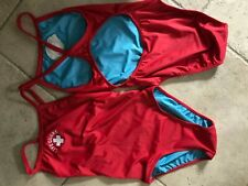 Water Safety Products Lifeguard Swimsuit Bathing Suit Size S Blue Full Lining