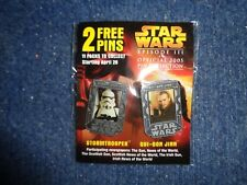 Star Wars Episode III Official 2005 Pins New
