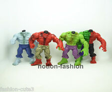 Set of 4 pcs New The Incredible Hulk Avengers SuperHero PVC action figure 11cm
