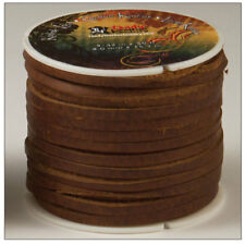 "Kodiak Lace 5/32"" x 50 ft. Brown by Tandy - FREE SHIPPING!"