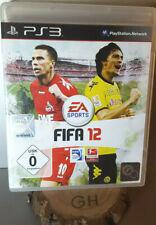 Fifa 12 PS3 Playstation 3 Spiel OVP komplett Soccer, Fußball Game