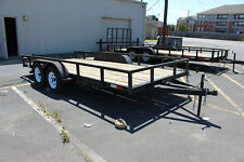 Lawn 8x16 Utility Lawnmower Service Trailer Nice Used Condition