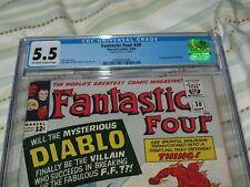 FANTASTIC FOUR #30 CGC 5.5 ~1ST DIABLO ~Marvel~1964