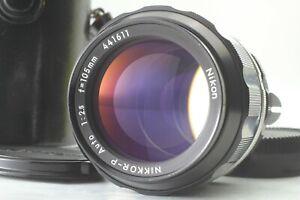 FedEx [Near MINT / Cace] Nikon Nikkor P Auto 105mm f/2.5 Non Ai Lens from JAPAN