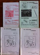 1976; Lot de 4 programme de course Cycliste Liègeoise