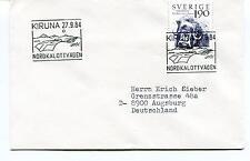 1984 Kiruna NORDKALOTTVAGEN Sverige Augsburg Polar Antarctic Cover