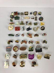 vintage hat pins Lot Of 57 / Travel Souvenirs