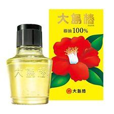 OSHIMA TSUBAKI Hair Oil 100% Natural Camellia Seed Oil 60 ml From Japan