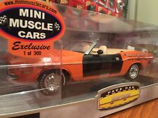 Green light MMC Exclusive 1 Of 300 1971 Dodge Challenger Convert Indi Pace Car