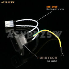 Power supply IEC 9999 sterling silver cable For OPPO BDP-93/103/105 UDP-203/205