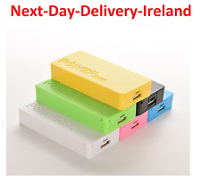 Double 18650 Portable External Battery Backup USB Battery Charger Power Bank Box