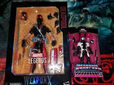 Marvel Legends Agent Of Weapon X Deadpool Action Figure Lot LAST CHANCE SALE!