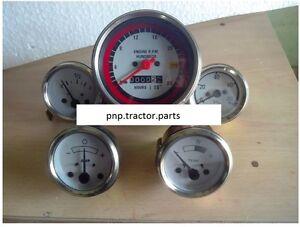 Oliver / White Face Tractor Gauges Kit -1750,1755, 1850,1855,1950,1955,2050,2150