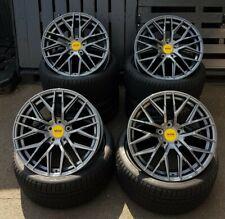 18 Zoll MAM RS4 Felgen et45 5x112 grau für Mercedes W176 W177 Audi S-Line