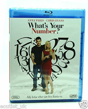 What's Your Number Blu-ray Region B NEW SEALED