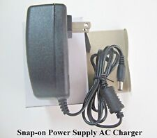 Snap-on AC Charger Adapter Modis Solus Ultra Edge Pro Scan Tools Scanner - NEW!