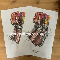 Avengers End Game Movie Poster 14x21 24x36 We Love You 3000 Y521